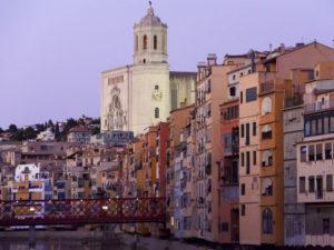 Girona al capvespre
