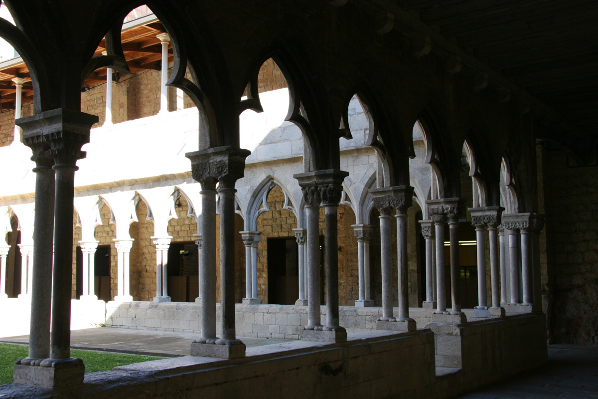Claustre Gotic Del Convent Sant Domenec Universitat De Girona