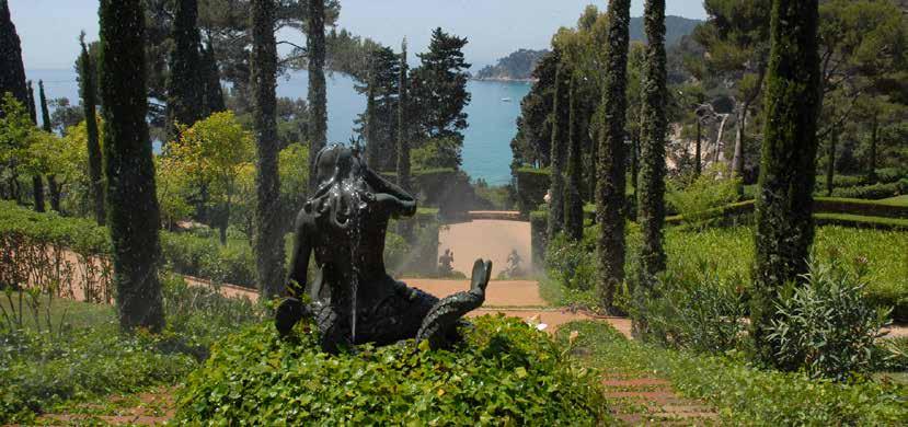 Jardins de Santa Clotilde a Lloret de Mar