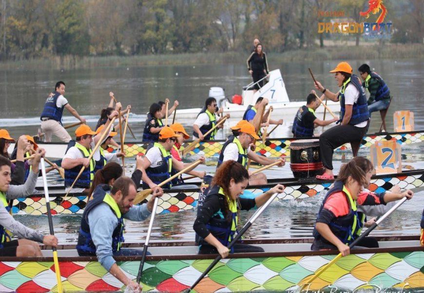 Festival Dragon Boat amb molta empenta
