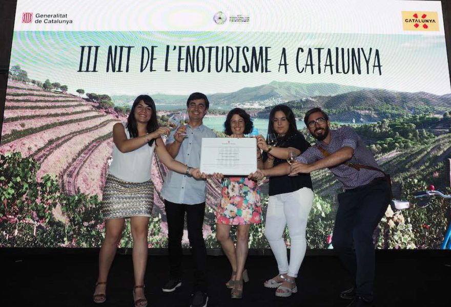 El celler La Vinyeta, premi nacional d'enoturisme