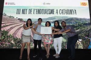 La Vinyeta Premi d'Enoturisme de Catalunya
