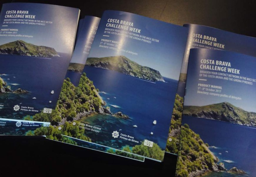 Costa Brava Challenge Week : le défi de partager des expériences MICE
