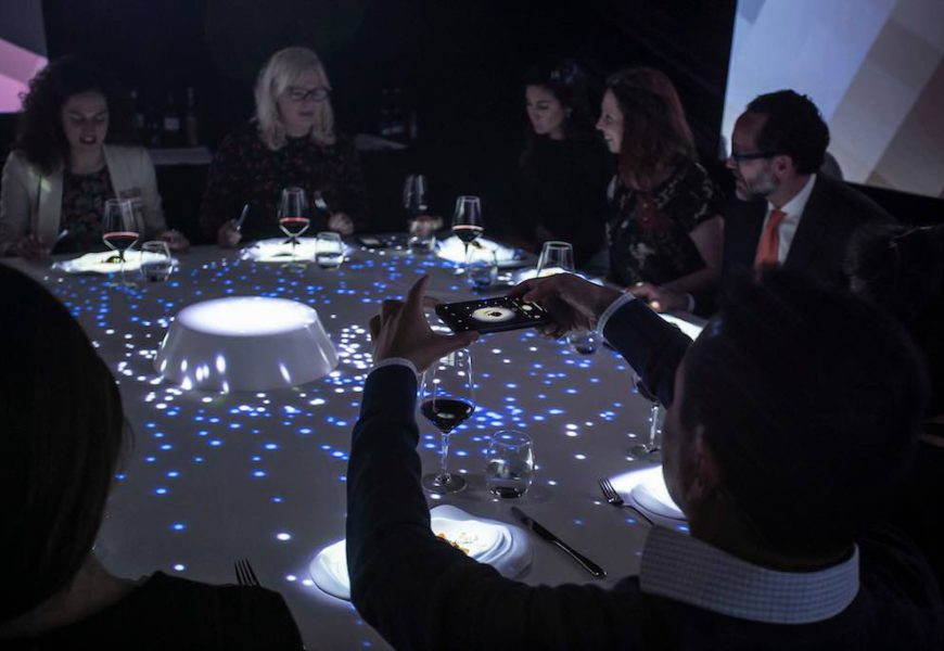 The TastEmotion sensory experience continues its voyage around Europe