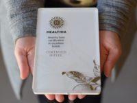 El Hotel Peralada Wine Spa & Golf recibe el certificado Healthia