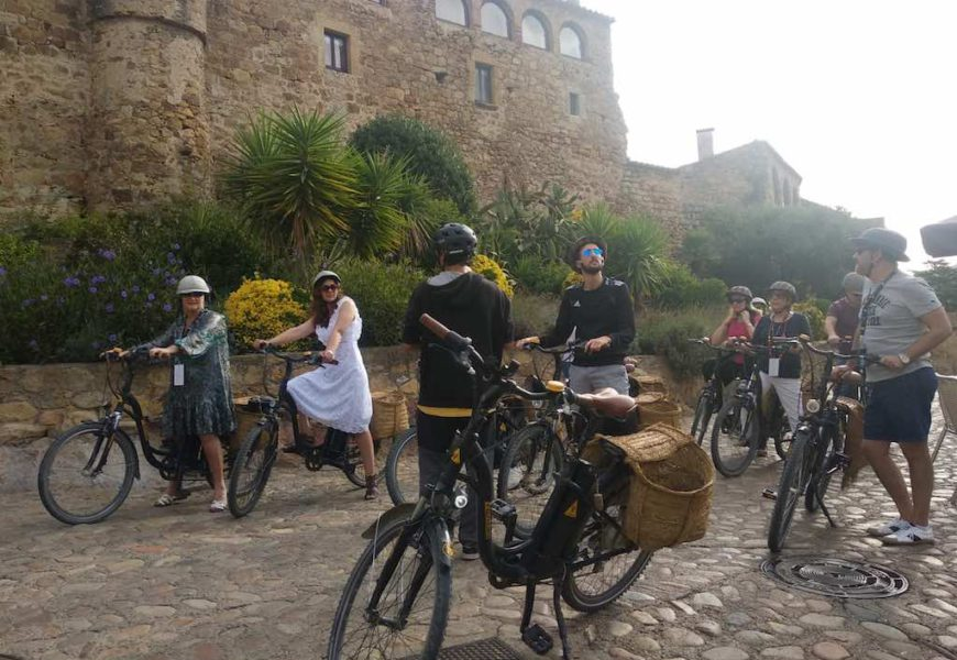 An environmental action in a land of fine wining and dining and medieval villages